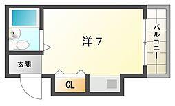 舞風恋人[2階]の間取り