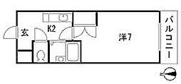 メゾン増井[3階]の間取り