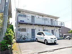 静岡県三島市青木の賃貸アパートの外観