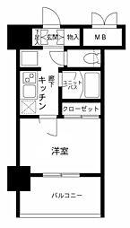 メインステージ南麻布4[4階]の間取り