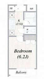 ルームコロン[3階]の間取り