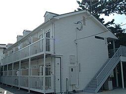 兵庫県神戸市須磨区月見山町2丁目の賃貸アパートの外観