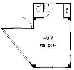 城北ビル[4階]の間取り