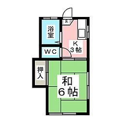 国見アーバン・ハウス[2階]の間取り