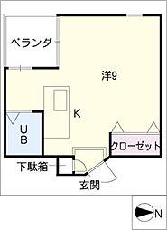 A2ビル[4階]の間取り