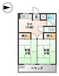 谷口ビル[2階]の間取り