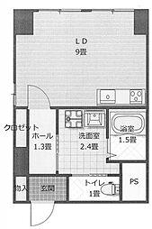 石渡ビル[7階]の間取り