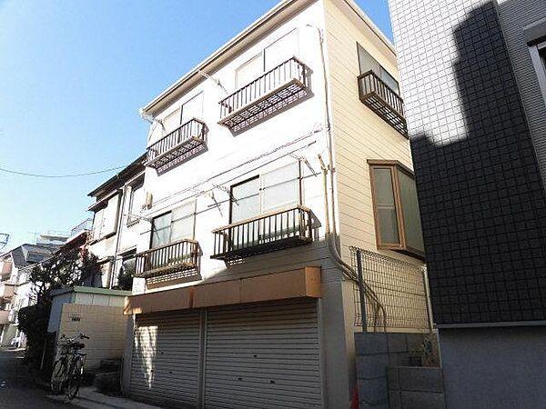 東京都北区西が丘2丁目の賃貸アパート