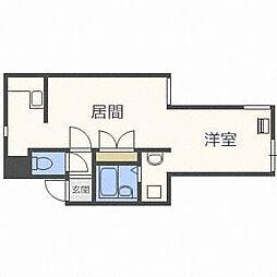 アーバンテラス東札幌II[2階]の間取り
