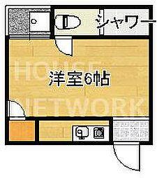 ハイツ松ヶ崎[3-B号室号室]の間取り