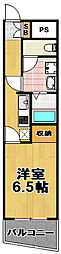 阪神千鳥橋マンション[5階]の間取り