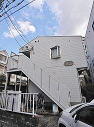 埼玉県志木市幸町1丁目の賃貸アパートの外観