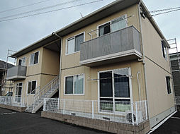 福岡県北九州市八幡西区馬場山緑の賃貸アパートの外観