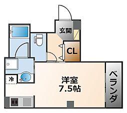 Liber西宮[5階]の間取り