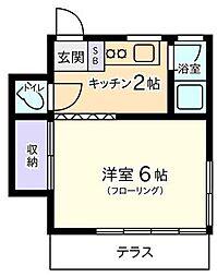 藤荘[2階]の間取り
