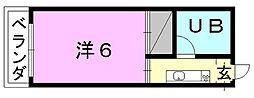 メゾンキタタチ[203 号室号室]の間取り