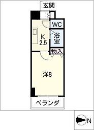 クレストステージアスカ[9階]の間取り