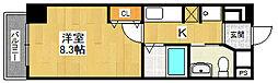 セレニテ西宮本町[609号室]の間取り