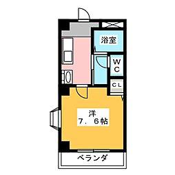 第三福谷ビル[1階]の間取り