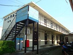 東京都日野市神明3丁目の賃貸アパートの外観
