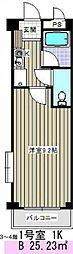 アーク岩塚[302号室]の間取り