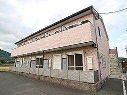 福岡県宗像市武丸の賃貸アパートの外観