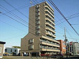 北海道札幌市東区北三十六条東17丁目の賃貸マンションの外観