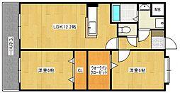 サピエンツァ太宰府[405号室号室]の間取り