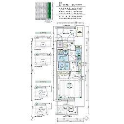 名古屋市営名城線 黒川駅 徒歩4分の賃貸マンション 8階1Kの間取り