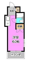 埼玉県新座市東1の賃貸マンションの間取り