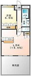 岡山県倉敷市片島町丁目なしの賃貸マンションの間取り