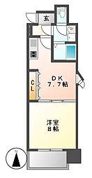 KDXレジデンス神宮前[12階]の間取り