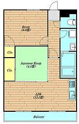 ハピネスソルファ 702号室[702号室号室]の間取り