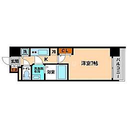アドバンス大阪城グラシア[10階]の間取り