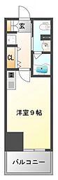 コンフォリア江坂[4階]の間取り