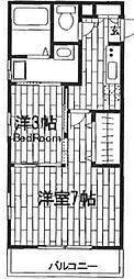 セピアコート田端[2階]の間取り