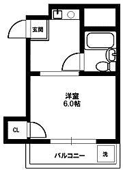 プチハイム[2階]の間取り