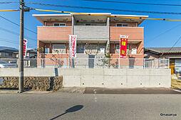 長野県長野市大字安茂里差出の賃貸アパートの外観