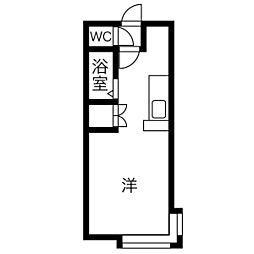 平岸駅 2.3万円