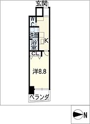 Napartment[3階]の間取り
