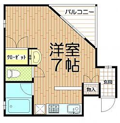 埼玉県さいたま市桜区栄和2丁目の賃貸マンションの間取り