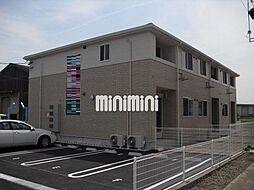 愛知県一宮市丹陽町外崎字下川田の賃貸アパートの外観