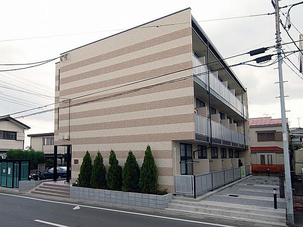 埼玉県さいたま市大宮区三橋の賃貸マンションの外観