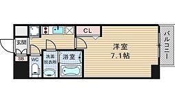ファステート大阪ドームシティ[9階]の間取り