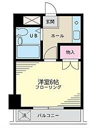 コーポ西村[203号室]の間取り