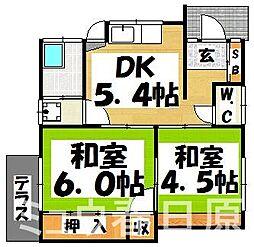 [一戸建] 福岡県大野城市雑餉隈町3丁目 の賃貸【/】の間取り