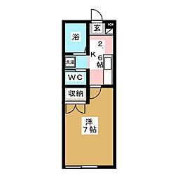 Winston116[2階]の間取り