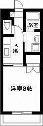 宮崎県宮崎市学園木花台桜1丁目の賃貸マンションの間取り