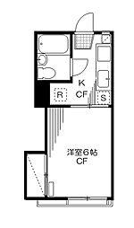 東京都葛飾区立石7丁目の賃貸アパートの間取り