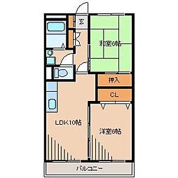 メゾン藤沢[3階]の間取り